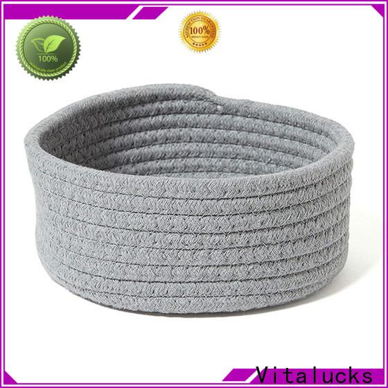 Vitalucks professional rope storage basket high qualtiy customizaition