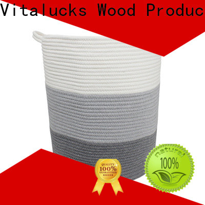 Vitalucks custom basket weave storage boxes high qualtiy best price