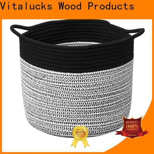 Vitalucks professional storage baskets for cube shelves practical best price