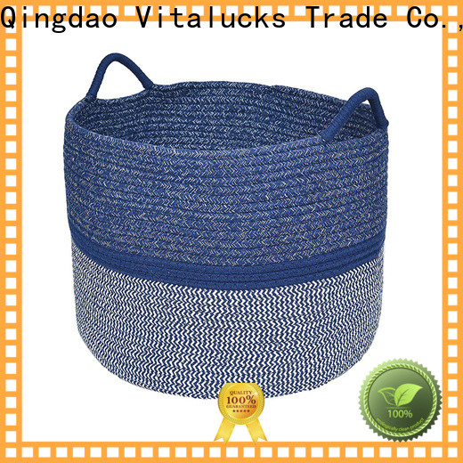 custom cotton rope basket fast delivery best price