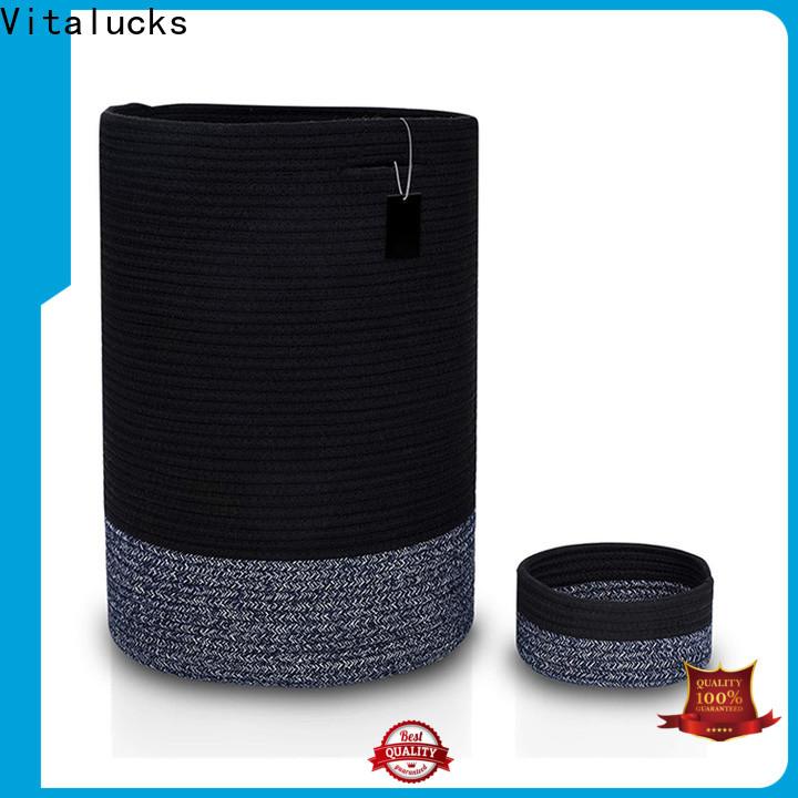Vitalucks large storage baskets for shelves practical manufacturing