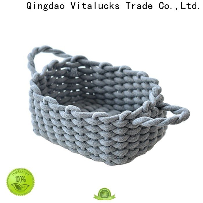 professional cotton rope basket practical best price