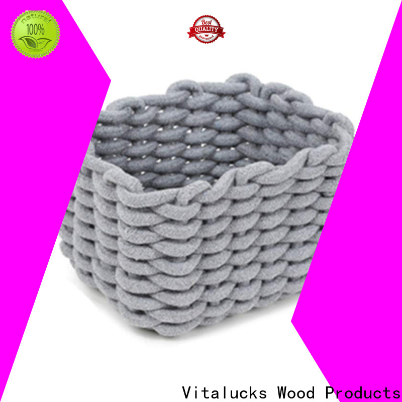 Vitalucks shop storage baskets practical customizaition