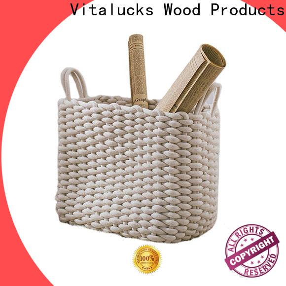 Vitalucks professional shop storage baskets manufacturing