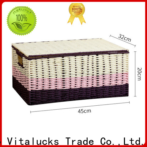 wholesale unique storage baskets favorable price top brand