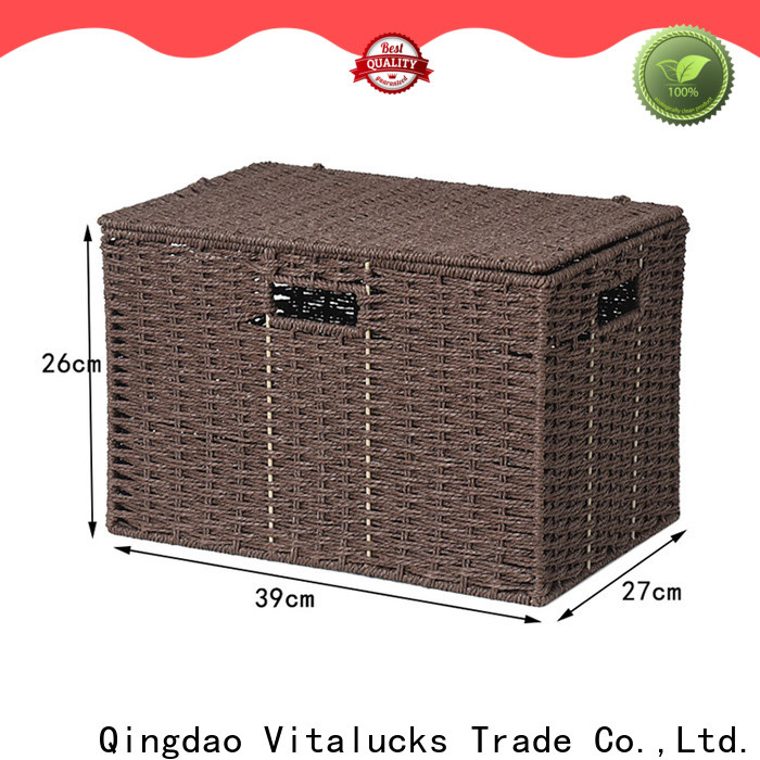 high quality paper rope basket quality assured manufacturing