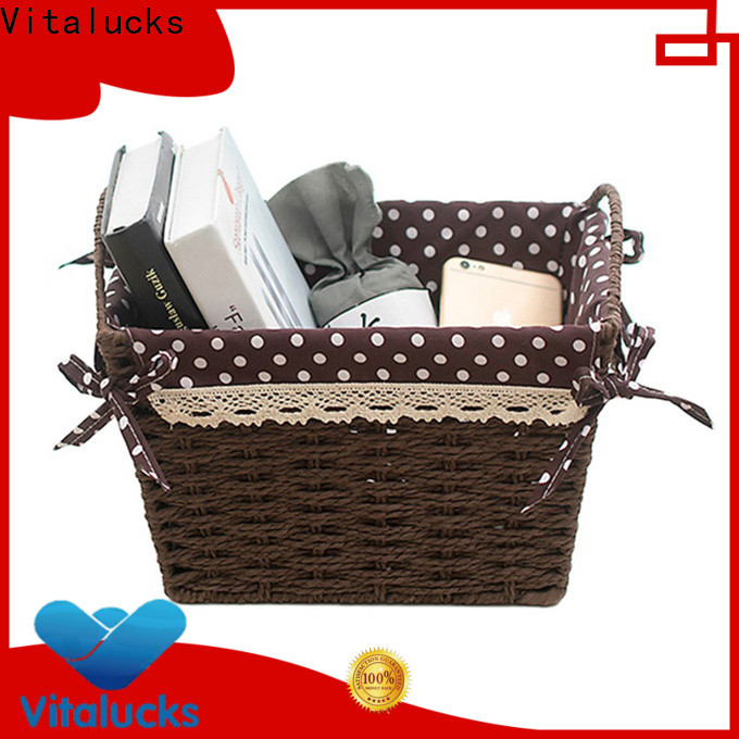 Vitalucks well-chosen material nursery storage baskets pratical manufacturing