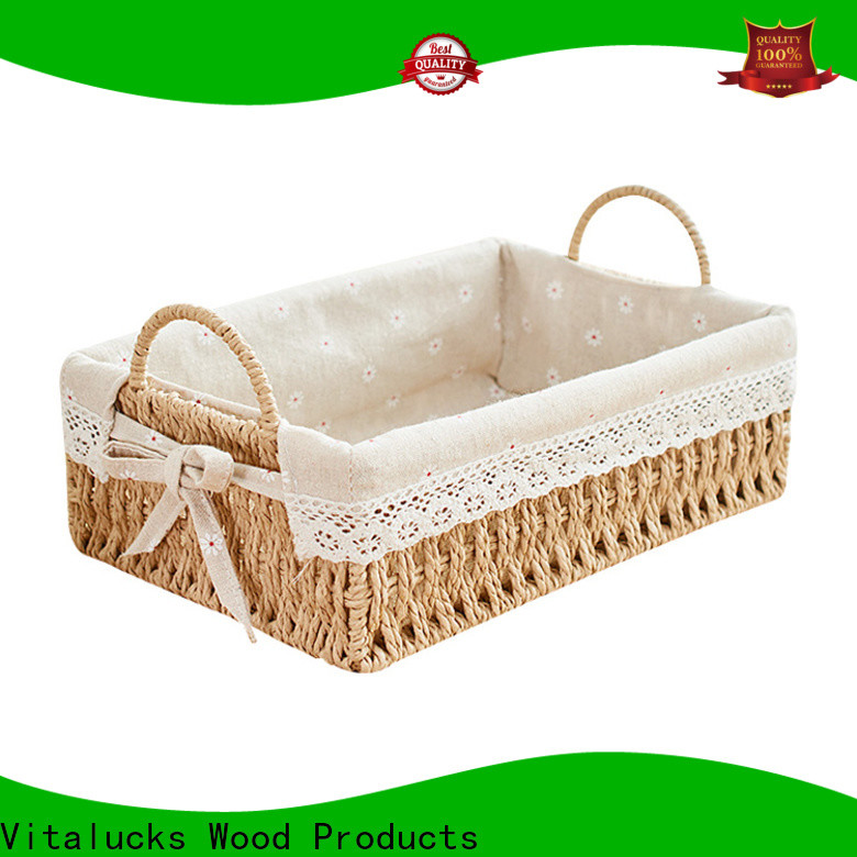 Vitalucks nursery storage baskets pratical manufacturing