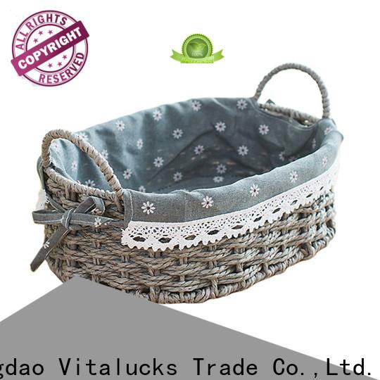 Vitalucks unique storage baskets pratical top brand