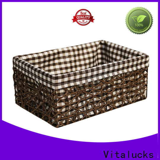 wholesale lined storage baskets for shelves quality assured top brand
