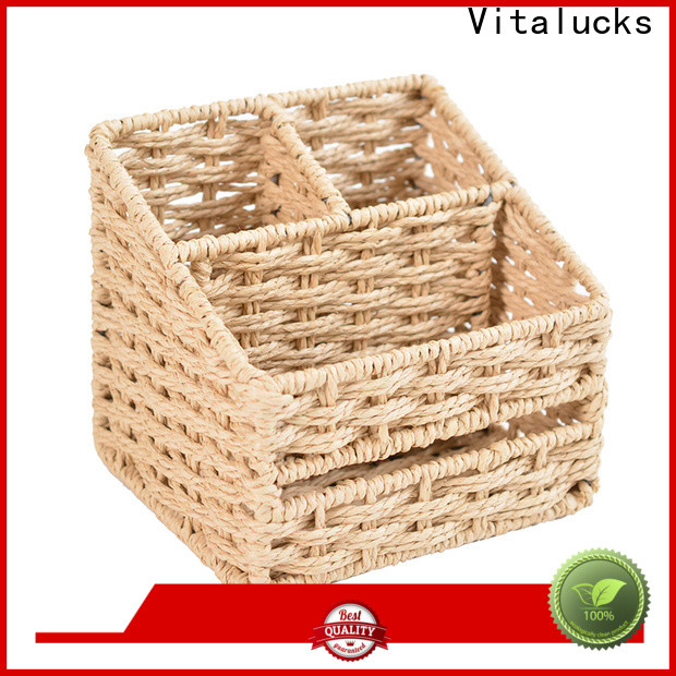 well-chosen material round woven basket quality assured manufacturing