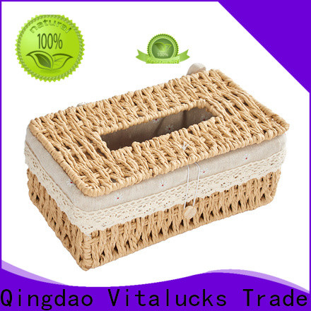 Vitalucks wholesale paper rope basket favorable price manufacturing