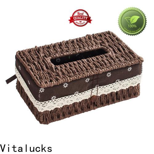 Vitalucks well-chosen material round woven basket quality assured top brand