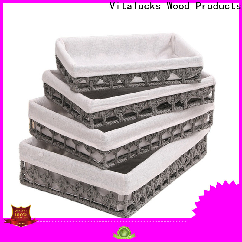 Vitalucks high quality soft storage baskets quality assured production