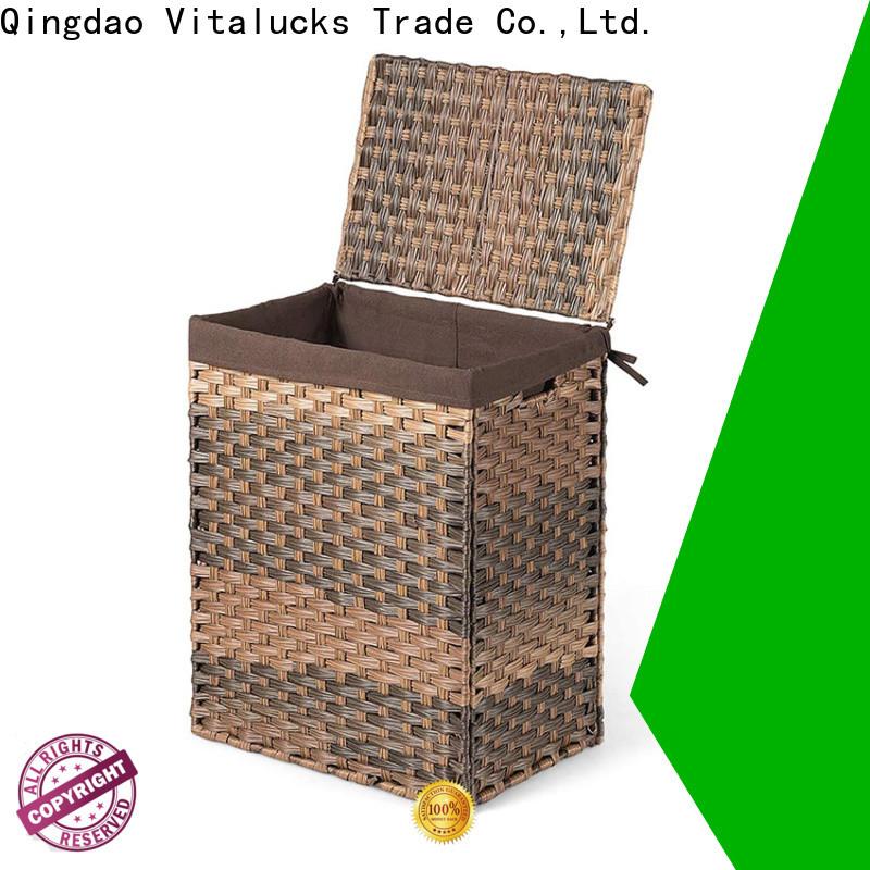 Vitalucks pp basket solid wood oem&odm