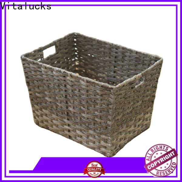 sustainable pp basket customization