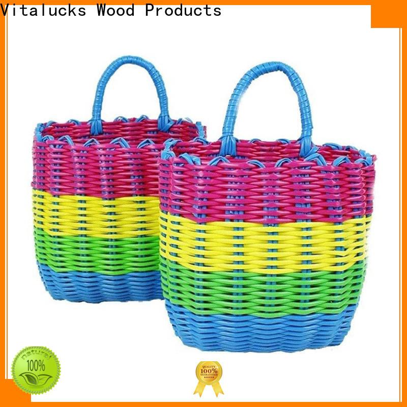 Vitalucks best basket solid wood manufacturing