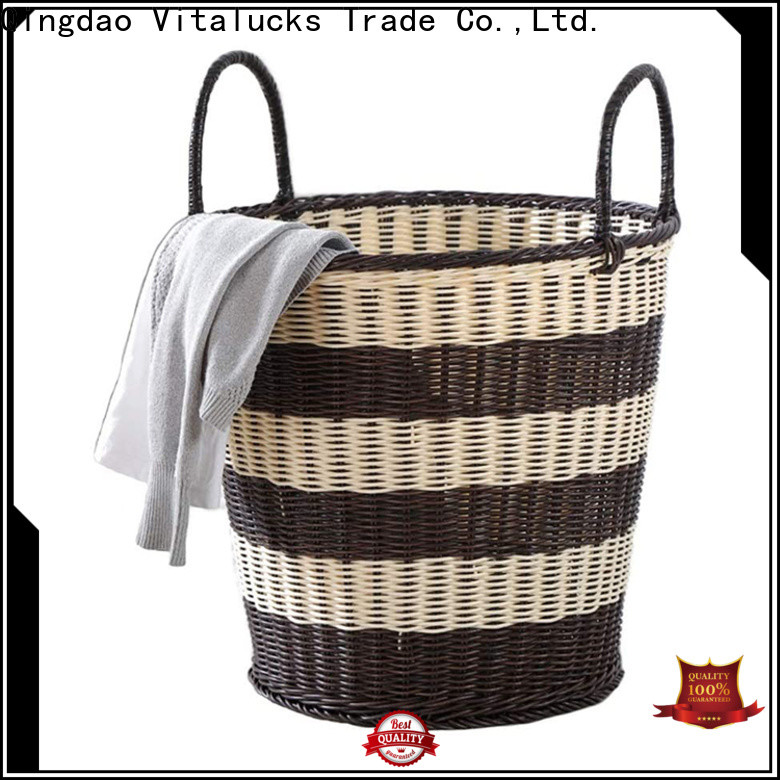 Vitalucks pp basket solid wood manufacturing