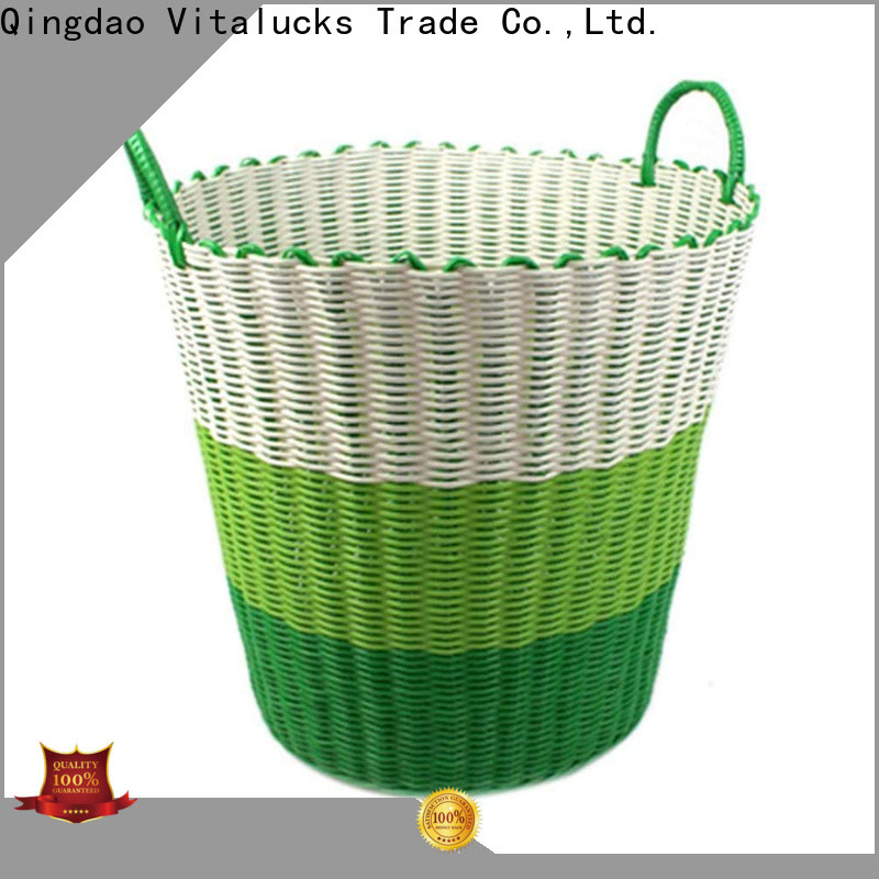 Vitalucks high quality material decorative plastic storage boxes with lids solid wood oem&odm