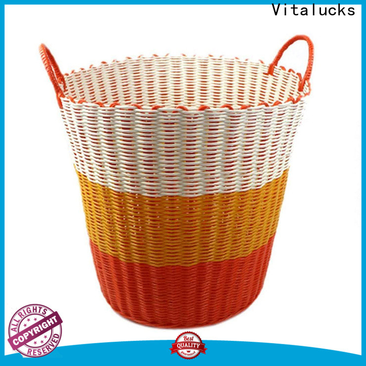 Vitalucks best basket wholesale customization