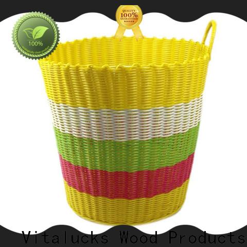 Vitalucks sustainable pp basket wholesale manufacturing
