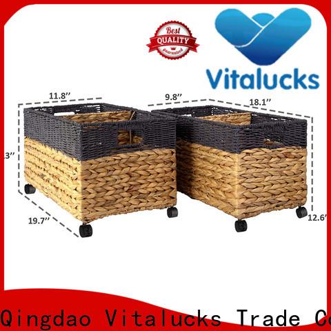 oem&odm grass basket environmental for home