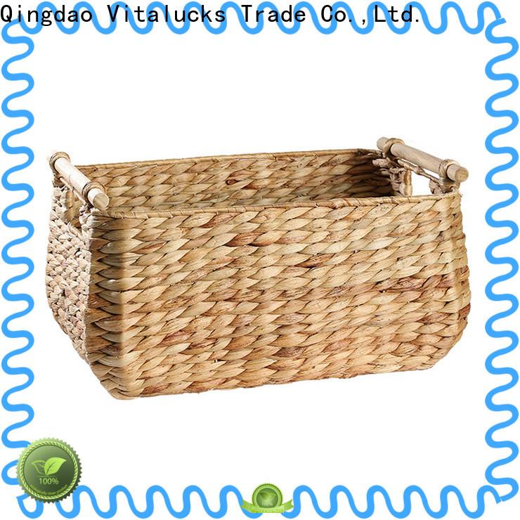 custom grass basket modern for rest room