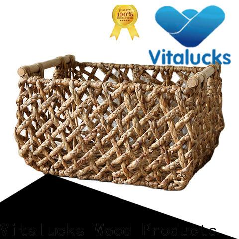 Vitalucks oem&odm grass basket environmental for bedroom