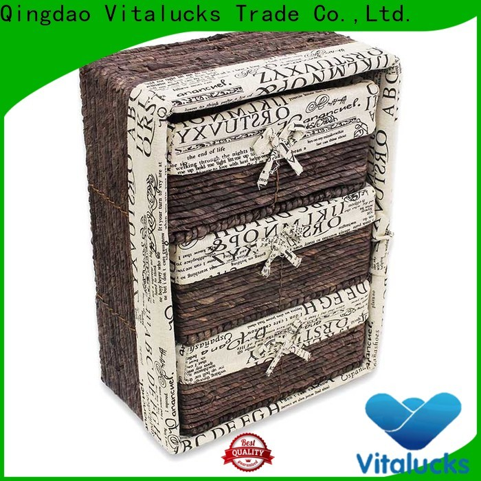 Vitalucks wholesale unique storage baskets pratical manufacturing