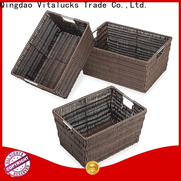 Vitalucks wholesale baskets quality manufacturing