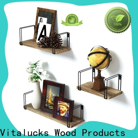 Vitalucks hot-sale rustic floating shelves great technical ability fast delivery