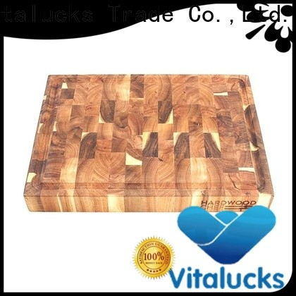 Vitalucks bamboo chopping board custom for chopping meat
