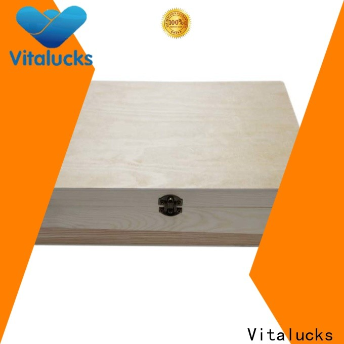 Vitalucks customized bulk wooden boxes favorable price fast delivery