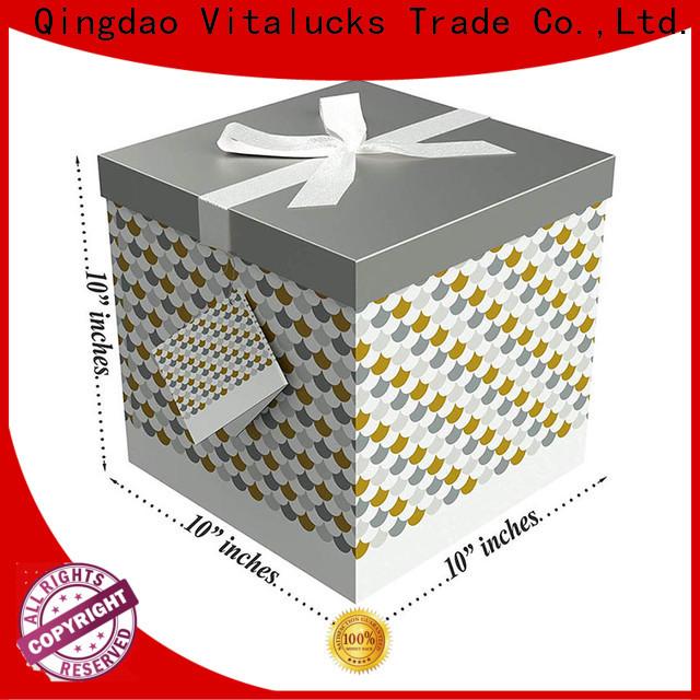 Vitalucks paper packaging box modern production