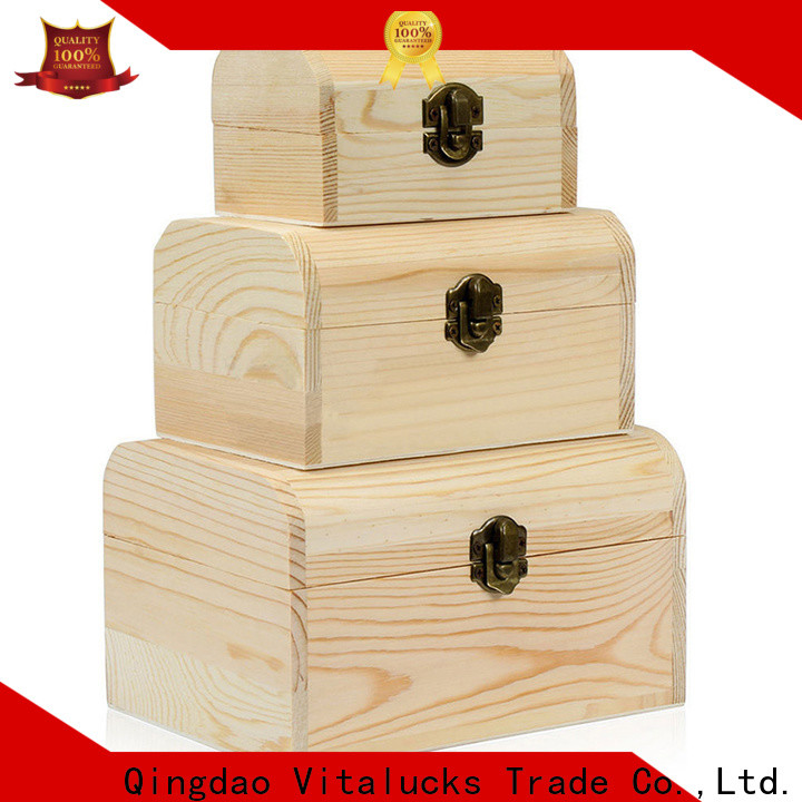 Vitalucks bulk wooden boxes favorable price