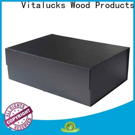 Vitalucks wooden wine box oem&odm bulk supply