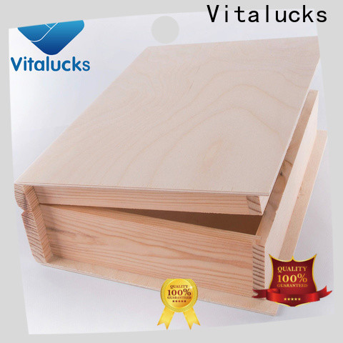 hot-sale personalised wooden box quality assured supply