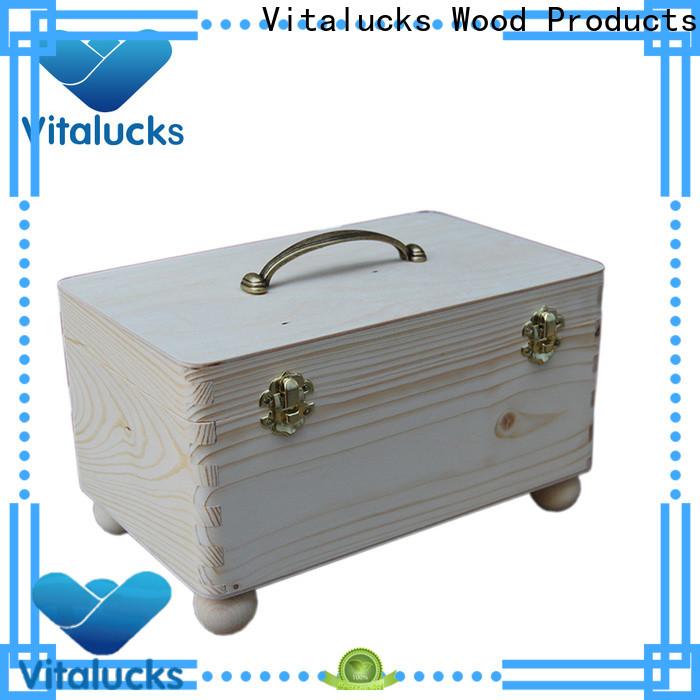 Vitalucks wooden gift boxes wholesale wholesale supply