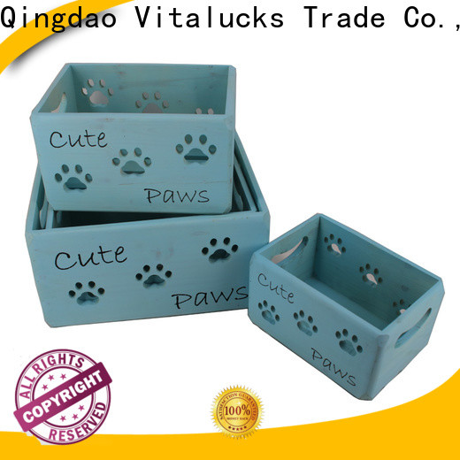 Vitalucks solid wooden crate high quality
