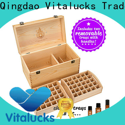 Vitalucks essential oil storage box wholesale supply best qualtiy