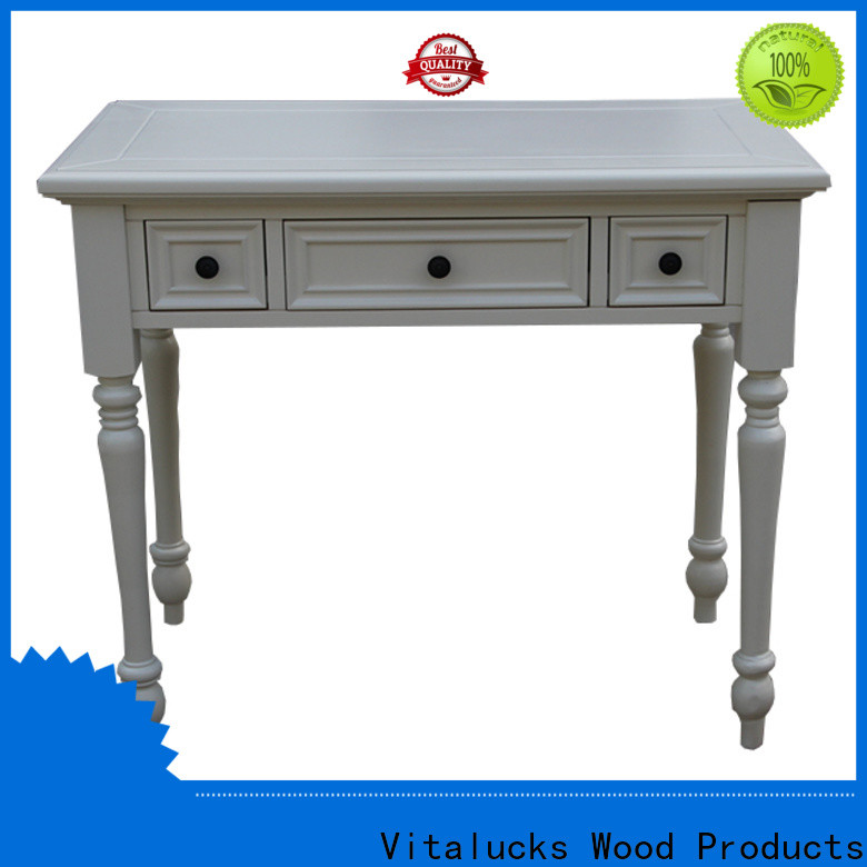 Vitalucks small wood dining table comfortable fast delivery