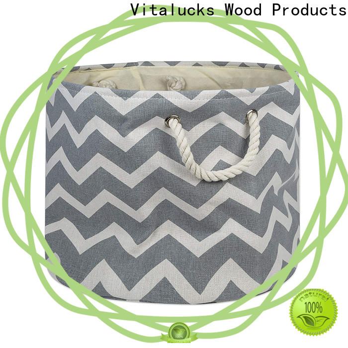 wholesale fabric storage baskets solid construction large storage