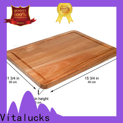 Vitalucks professional wooden chopping boards commercial wholesale