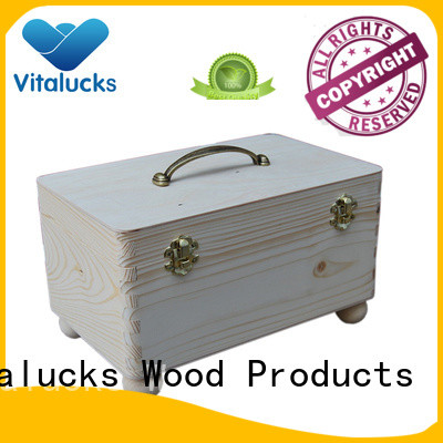 Vitalucks custom wooden gift boxes wholesale wholesale supply