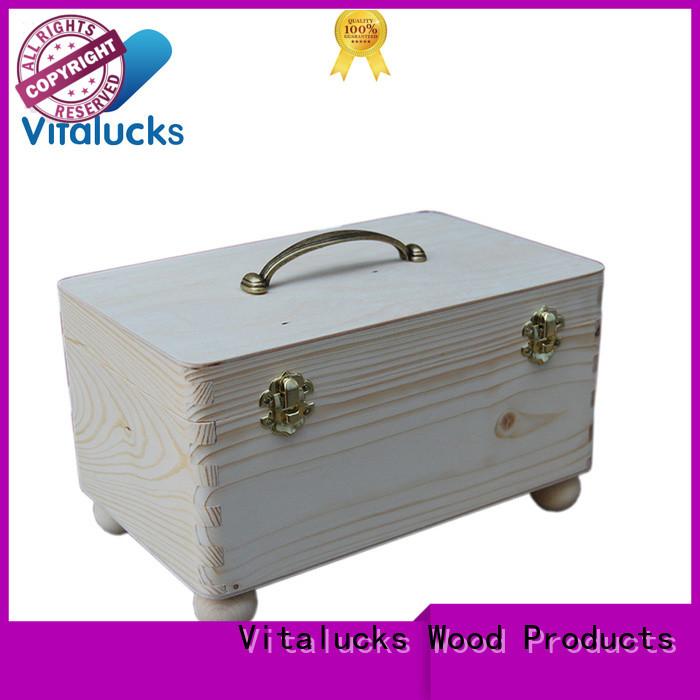 Vitalucks wooden gift boxes wholesale wholesale
