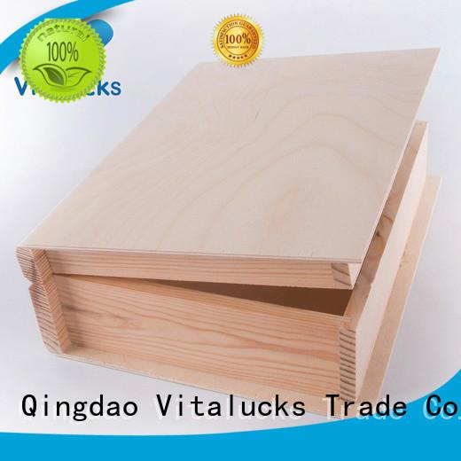 custom personalised wooden box wholesale supply
