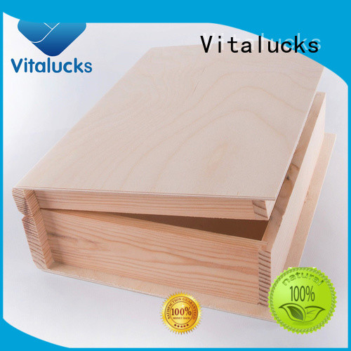 unique design wooden gift boxes wholesale high-quality for pakaging