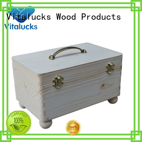 unfinished unfinished wood box oil essential packing fast delivery