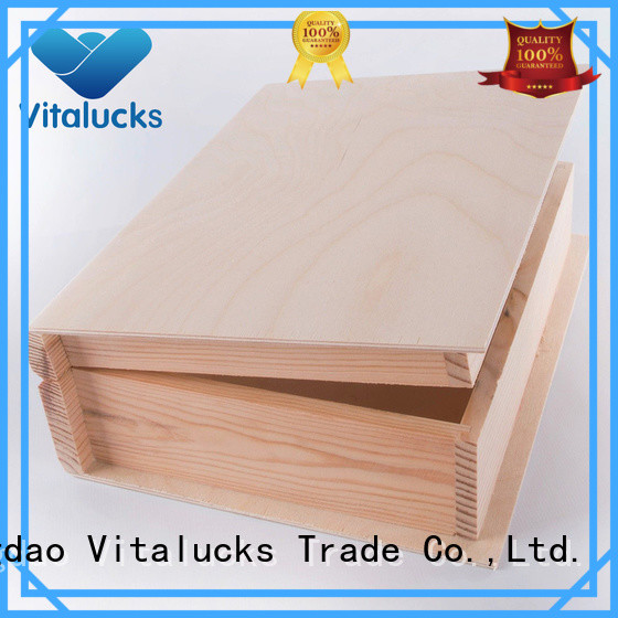 Vitalucks hot-sale custom wooden gift box wholesale latest design