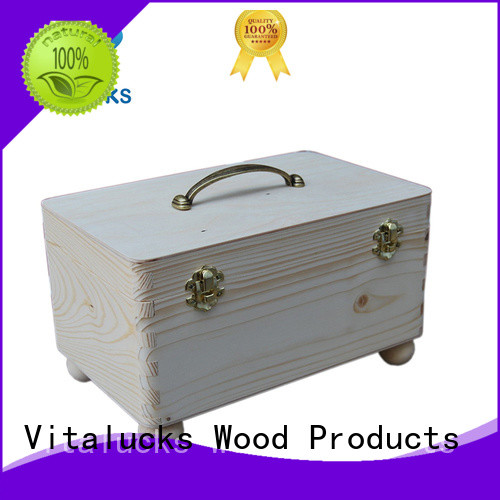 wooden box with sliding lid oil essential packing at discount Vitalucks